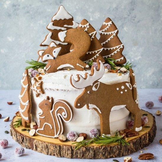 Tremendous Gingerbread Layer Cake Gallery Foodgawker Funny Birthday Cards Online Hetedamsfinfo