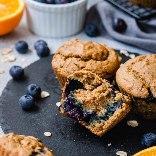 Vegan Blueberry Orange Oat Muffins Foodgawker