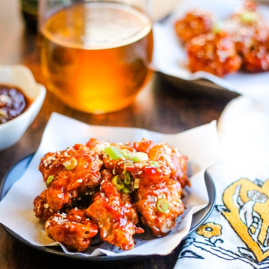 Air Fryer Korean Fried Chicken Foodgawker