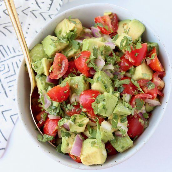 Chunky Avocado Salsa Recipe
